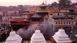 Blick auf den Hauptempel von Pashupatinath