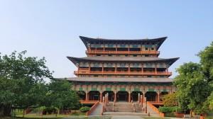 koreanscher Tempel in Lumbini, Nepal
