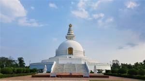 Weltfriedensstupa in Lumbni Nepal